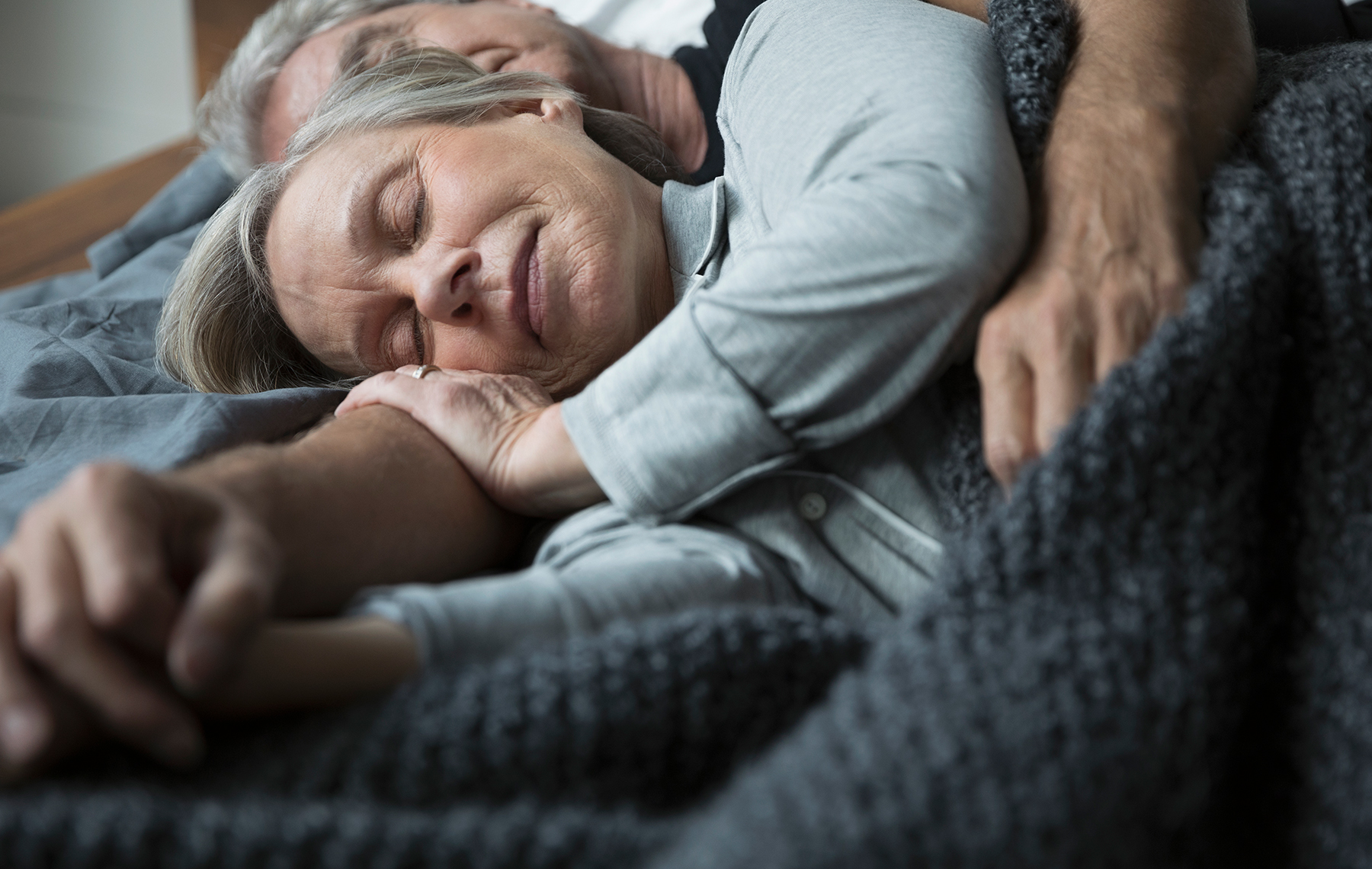 AltaMed older woman and husband sleeping