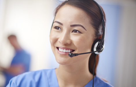 call center nurse