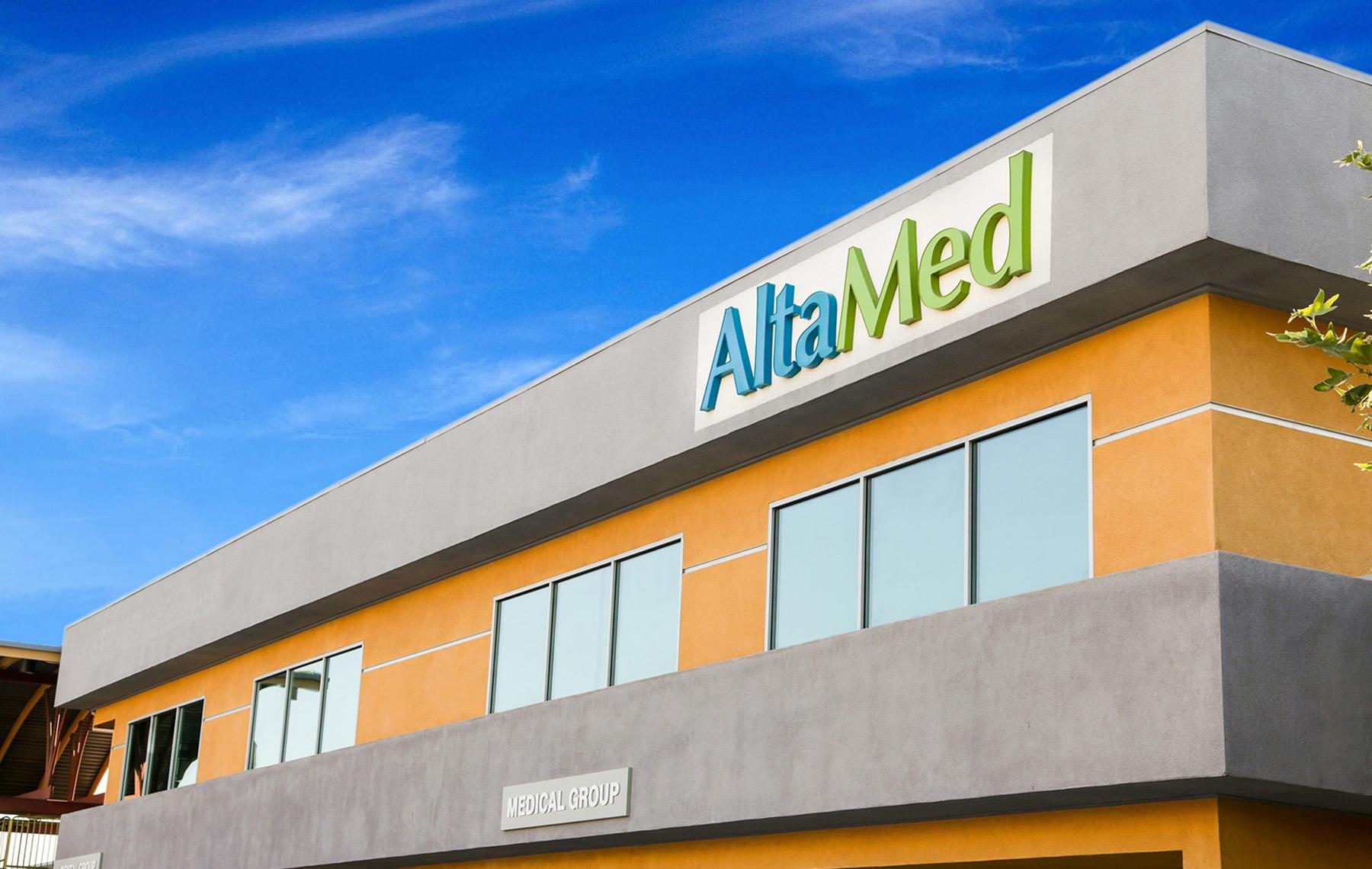Fachada de una clínica de Altamed